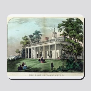The home of Washington, Mount Vernon, VA - 1872 Mo