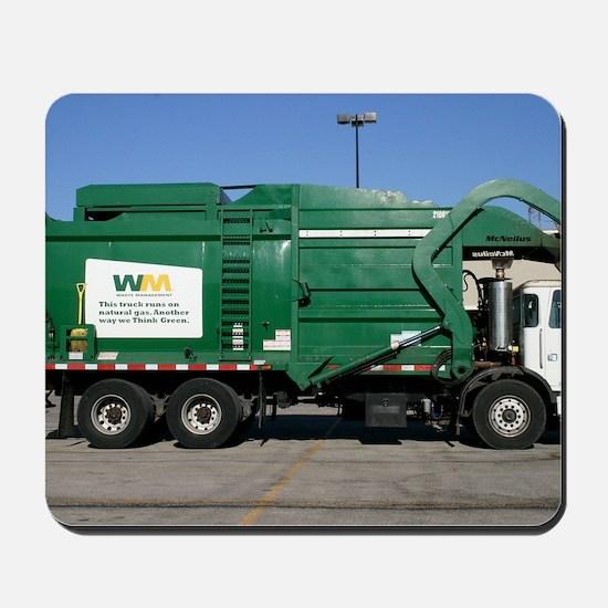 garbage truck love Mousepad