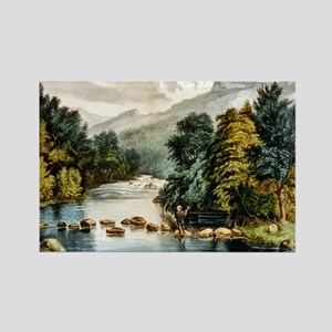 Racquet River--Adirondacks - 1880 Magnets
