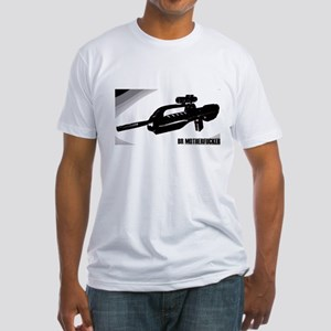 BR Motherf_cker Wht Fitted T-Shirt
