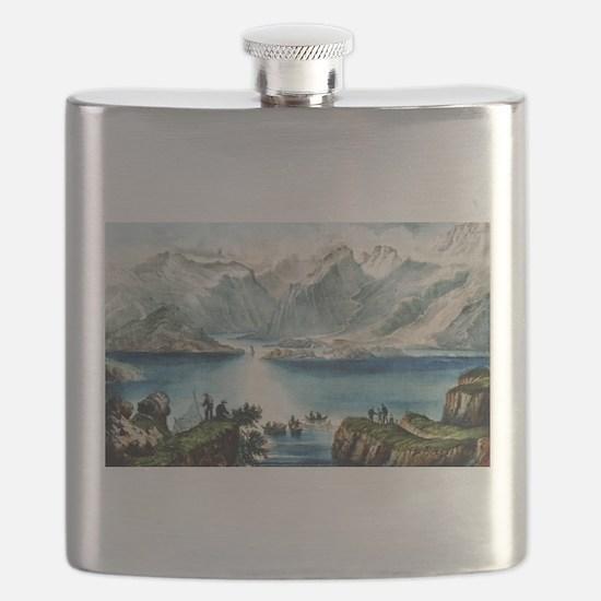 The killeries--Connemara - 1907 Flask