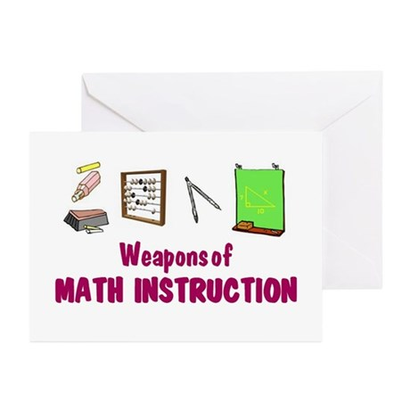 WMathDs - Greeting Cards (Pk of 10)