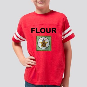 FLOUR CONTAINER Youth Football Shirt