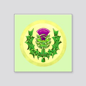 Heraldic Thistle Sticker
