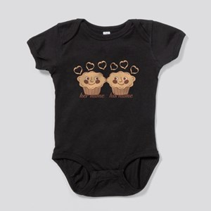 Personalized Cuddle Muffins Baby Bodysuit