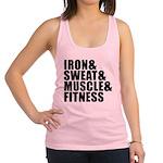 Iron and sweat Racerback Tank Top