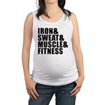 Iron and sweat Maternity Tank Top
