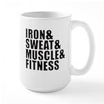 Iron and sweat Mug