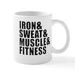 Iron and sweat Small Mug