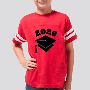 2026 School Class Graduation  Youth Football Shirt