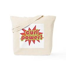 Curl Power Tote Bag