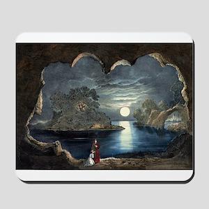 The magic lake - 1856 Mousepad