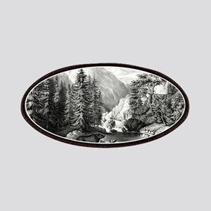 The mountain pass, Sierra Nevada - 1867 Patch