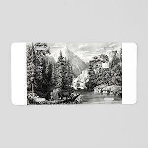 The mountain pass, Sierra Nevada - 1867 Aluminum L