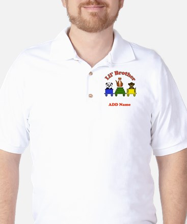 Little Brother Zoo Golf Shirt
