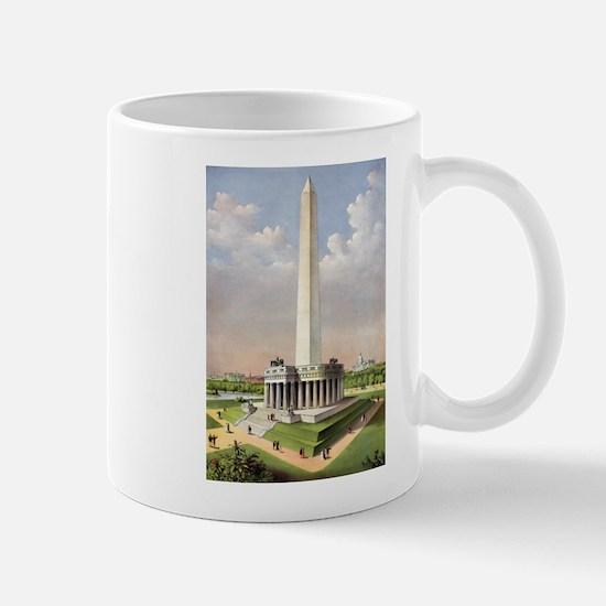 The National Washington Monument - 1885 Mug