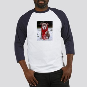Winter Pit Bull Baseball Jersey