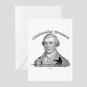 Nathaniel Greene 01 Greeting Cards (Pk of 10)