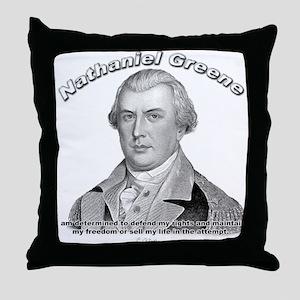 Nathaniel Greene 01 Throw Pillow