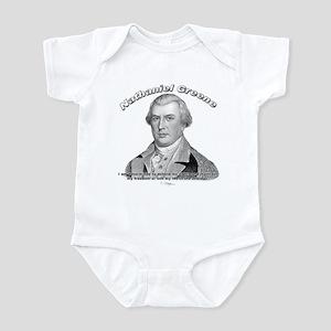 Nathaniel Greene 01 Infant Bodysuit