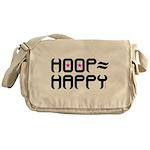 HOOP=HAPPY Messenger Bag