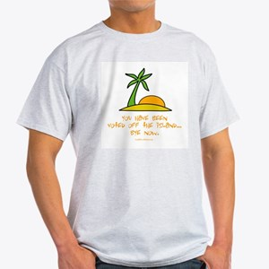 Voted Off Ash Grey T-Shirt