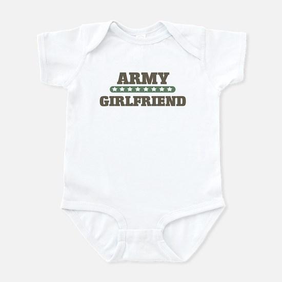 Army Stars Girlfriend Infant Bodysuit
