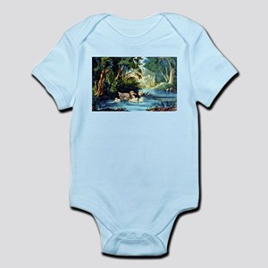 The pond in the woods - 1856 Infant Bodysuit