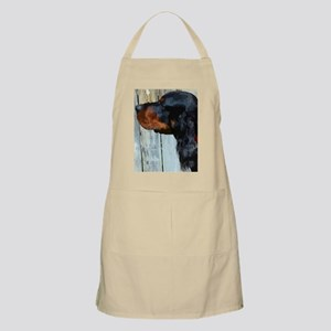 Painted Gordon Setter Apron