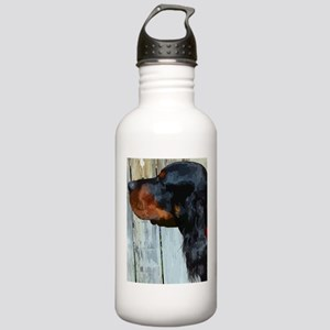 Painted Gordon Setter Water Bottle