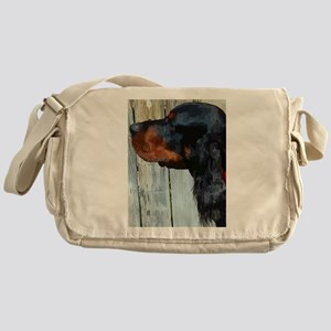 Painted Gordon Setter Messenger Bag