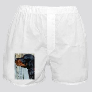 Painted Gordon Setter Boxer Shorts