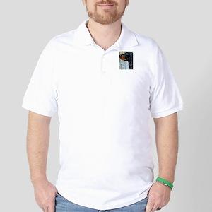 Painted Gordon Setter Golf Shirt