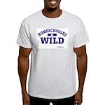 Homeschooled & Wild Ash Grey T-Shirt