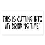 Drinking Time Sticker