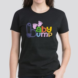 Colourful Baby Bumb T-Shirt