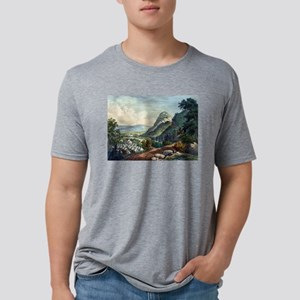 The valley of the Shenandoah - 1864 Mens Tri-blend