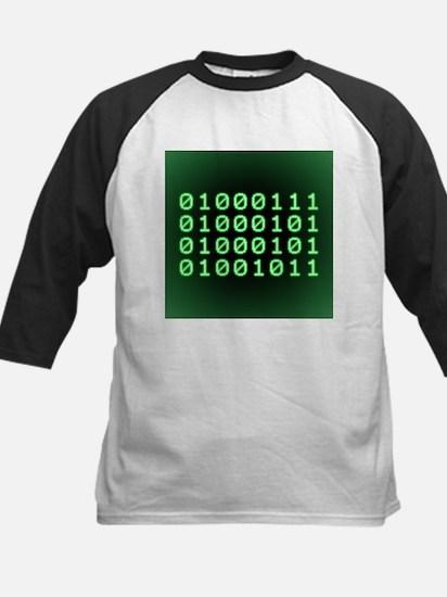 Binary code for GEEK Kids Baseball Jersey