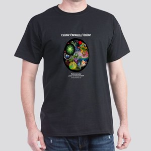 Cosmic Reincarnator Black T-Shirt