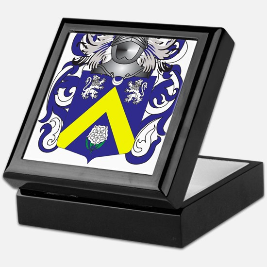 Gervais-(Tyrone) Coat of Arms (Family Crest) Keeps