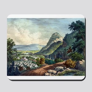 The valley of the Shenandoah - 1864 Mousepad