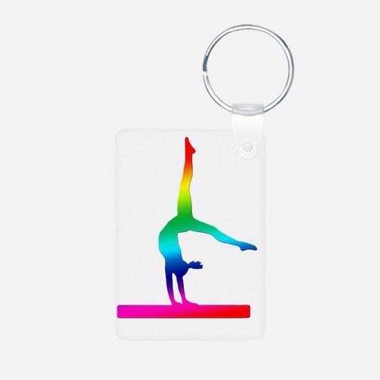 Rainbow Flip Flop Keychains