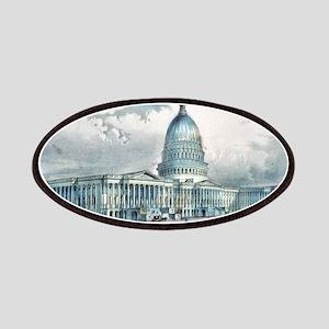 United States Capitol, Washington, D.C. - 1872 Pat