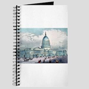 United States Capitol, Washington, D.C. - 1872 Jou