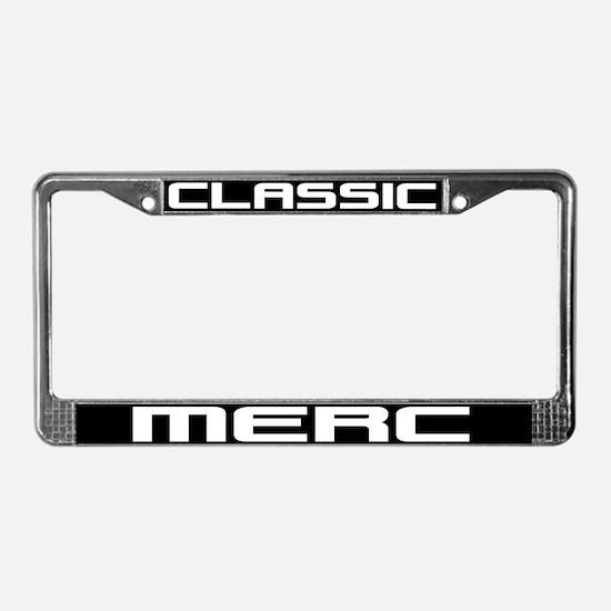 Classic Merc License Plate Frame