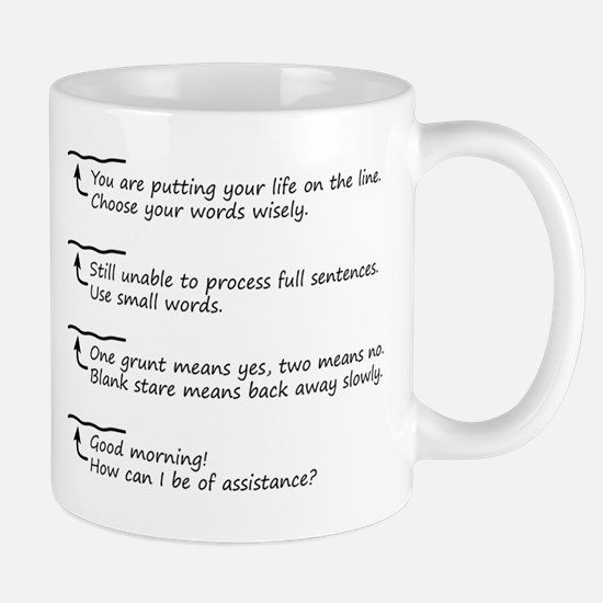 Morning Coffee Level Mug