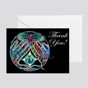 10 - Five Elements - 3 Sizes - Thank You Cards