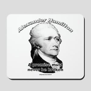 Alexander Hamilton 01 Mousepad