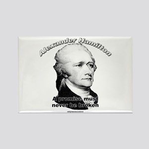 Alexander Hamilton 01 Rectangle Magnet