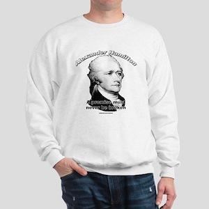 Alexander Hamilton 01 Sweatshirt